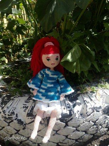 Эта куколка русалочка связалась еще летом для племянницы мужа. фото 3