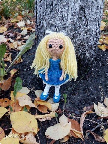 Эта куколка русалочка связалась еще летом для племянницы мужа. фото 4