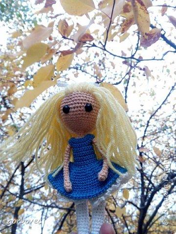 Эта куколка русалочка связалась еще летом для племянницы мужа. фото 5