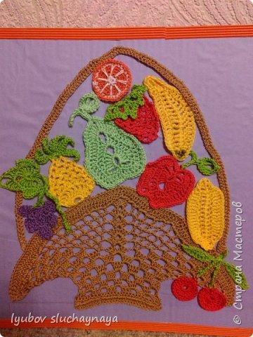 Корзина с фруктами и ягодами к Юбилею нашей любимой Страны Мастеров!!!  Здраствуй,Город Мастеров! Шлю корзину Вам даров, Чтоб Вы шили и вязали, Мастерили , вышивали... Долго-долго процветали!!! фото 2