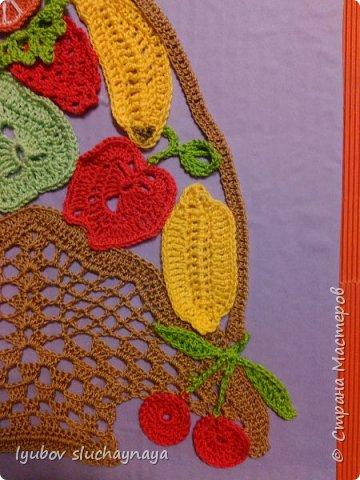 Корзина с фруктами и ягодами к Юбилею нашей любимой Страны Мастеров!!!  Здраствуй,Город Мастеров! Шлю корзину Вам даров, Чтоб Вы шили и вязали, Мастерили , вышивали... Долго-долго процветали!!! фото 3