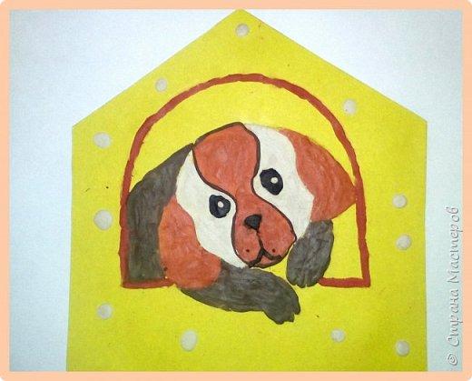 Продолжаем серию новогодних портретов, рисуем собачку. фото 37