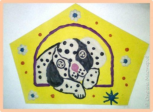Продолжаем серию новогодних портретов, рисуем собачку. фото 29