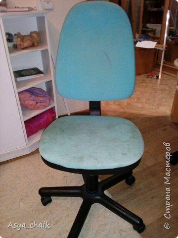 Были у меня 2 предмета мебели. Уж ооочень страшные и замызганные. Надоело,захотелось новизны фото 2
