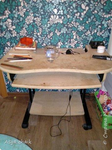 Были у меня 2 предмета мебели. Уж ооочень страшные и замызганные. Надоело,захотелось новизны фото 3