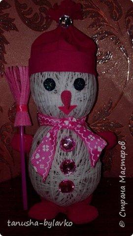 Новый год совсем скоро... и мне захотелось сделать несколько  снеговичков под елочку....вот такие милашки получились фото 4