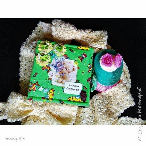 Коробочки из ткани мамины сокровища
