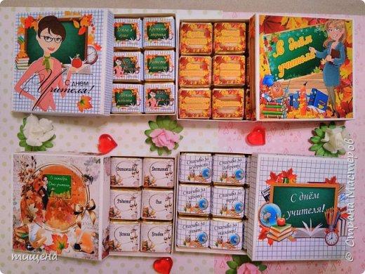Коробочки с конфетками птичье молоко к любому празднику фото 13