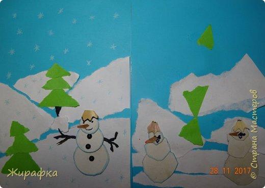 Зима... Снеговики пошли... фото 1