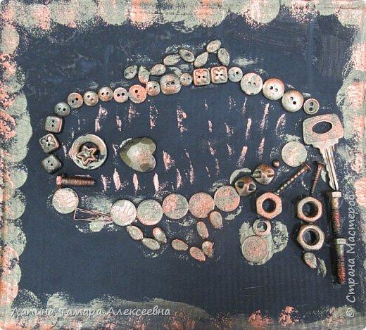 """Мои самые маленькие художники представляют свои """"хламушки"""". У кого-то рыбка, кошка, божья коровка или дерево. фото 5"""