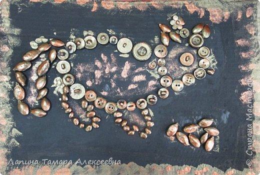 """Мои самые маленькие художники представляют свои """"хламушки"""". У кого-то рыбка, кошка, божья коровка или дерево. фото 3"""