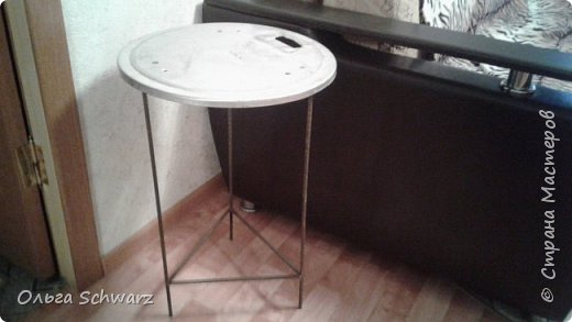 Привет, жители и гости Страны Мастеров! Давно была задумка, сделать чайный столик. фото 3