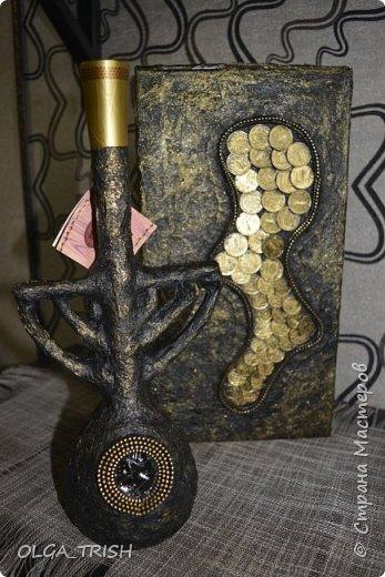 Декор графинов и рюмочек фото 7