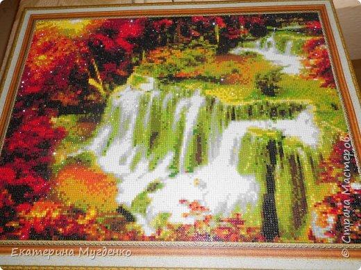 "Алмазная мозайка""Водопад"" фото 1"
