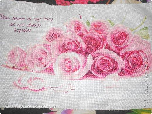 """Вышивка """"Бабочки в цветах"""", вышивка крестом """"Розы"""" фото 2"""