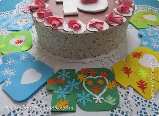 С ДНЁМ РОЖДЕНИЯ, ДОРОГАЯ СТРАНА МАСТЕРОВ!!! С ЮБИЛЕЕМ, ЛЮБИМЫЙ САЙТ!!! Принимай и наше поздравление - вот такой тортик изготовили юные кондитеры нашего кружка. фото 4