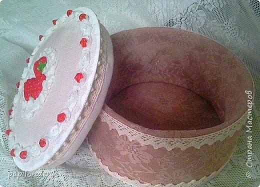 """Здравствуйте, дорогие жители Страны Мастеров! Спешу добавить к праздничному столу и свой """"тортик""""-шкатулку . фото 2"""
