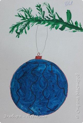 """Скоро-скоро Новый Год, На санях примчится. Вот уже, наверно, он К нам в окно стучится. (Автор  частушки неизвестен)  Пора наряжать ёлку! Итак,  открываем традиционную """"Мастерскую Деда Мороза"""" и первыми в нашей программе будут ёлочные шарики. фото 7"""