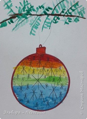 """Скоро-скоро Новый Год, На санях примчится. Вот уже, наверно, он К нам в окно стучится. (Автор  частушки неизвестен)  Пора наряжать ёлку! Итак,  открываем традиционную """"Мастерскую Деда Мороза"""" и первыми в нашей программе будут ёлочные шарики. фото 8"""