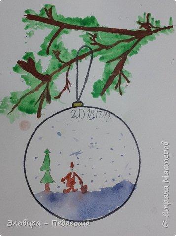 """Скоро-скоро Новый Год, На санях примчится. Вот уже, наверно, он К нам в окно стучится. (Автор  частушки неизвестен)  Пора наряжать ёлку! Итак,  открываем традиционную """"Мастерскую Деда Мороза"""" и первыми в нашей программе будут ёлочные шарики. фото 9"""