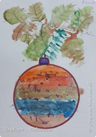 """Скоро-скоро Новый Год, На санях примчится. Вот уже, наверно, он К нам в окно стучится. (Автор  частушки неизвестен)  Пора наряжать ёлку! Итак,  открываем традиционную """"Мастерскую Деда Мороза"""" и первыми в нашей программе будут ёлочные шарики. фото 13"""