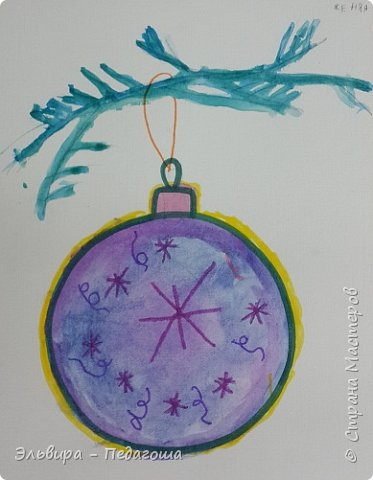 """Скоро-скоро Новый Год, На санях примчится. Вот уже, наверно, он К нам в окно стучится. (Автор  частушки неизвестен)  Пора наряжать ёлку! Итак,  открываем традиционную """"Мастерскую Деда Мороза"""" и первыми в нашей программе будут ёлочные шарики. фото 17"""