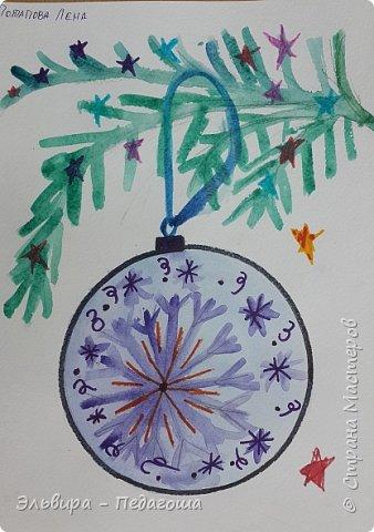 """Скоро-скоро Новый Год, На санях примчится. Вот уже, наверно, он К нам в окно стучится. (Автор  частушки неизвестен)  Пора наряжать ёлку! Итак,  открываем традиционную """"Мастерскую Деда Мороза"""" и первыми в нашей программе будут ёлочные шарики. фото 19"""