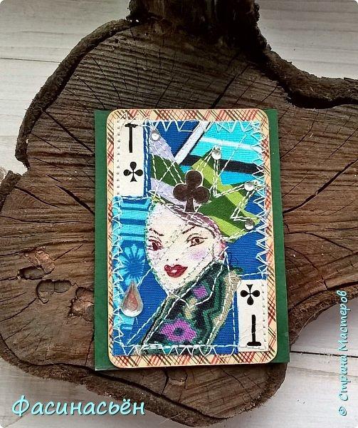 Карточка от Светик-Светланка.Бисер уже применила в своей открыточке. фото 11