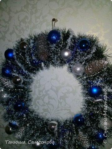 Рождественский веночек фото 2