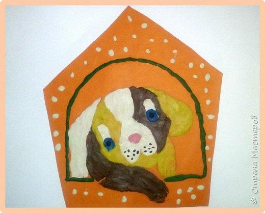 Продолжаем серию новогодних портретов, рисуем собачку. фото 41