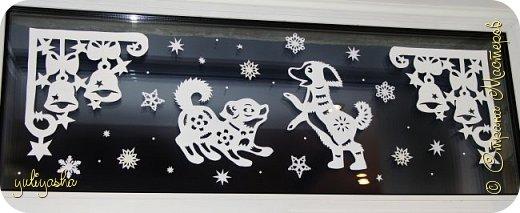 Новогодние Окошки в детской....Идею почерпнула здесь же, в СМ.....  Другие окошки здесь http://stranamasterov.ru/node/1064508  http://stranamasterov.ru/node/677622  Вдохновляйтесь, Новый год не за горами... фото 5