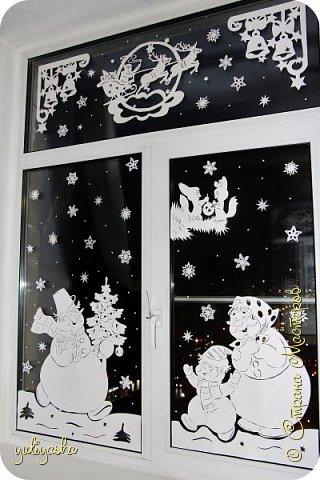 Новогодние Окошки в детской....Идею почерпнула здесь же, в СМ.....  Другие окошки здесь http://stranamasterov.ru/node/1064508  http://stranamasterov.ru/node/677622  Вдохновляйтесь, Новый год не за горами... фото 1
