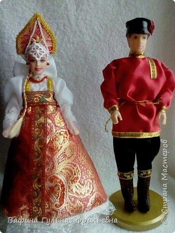 Куклы в русских национальных костюмах.Сшили вместе с сестрой http://stranamasterov.ru/find/users/Гузель Фрильевна фото 1