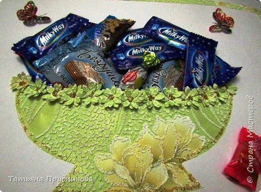 Принимайте ещё угощение от нас ко Дню рождения! Целую вазу конфет!  фото 5