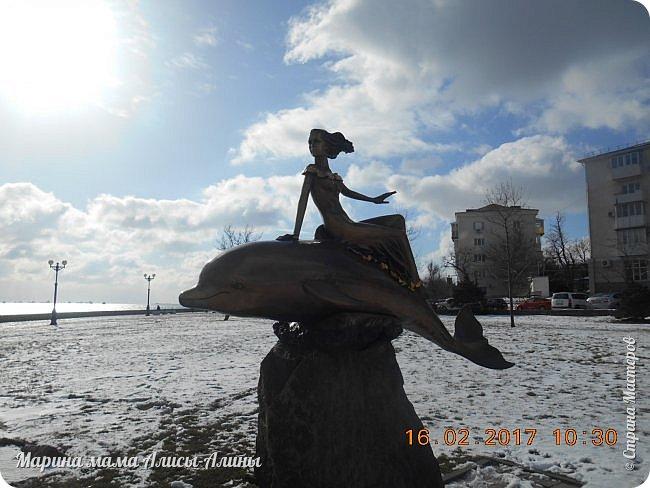 Прошлой зимой муж ездил по делам в Новороссийск. Новоросси́йск — город на юге России в Краснодарском крае.  Расположен на юго-западе края, на побережье Цемесской (Новороссийской) бухты Чёрного моря. фото 14