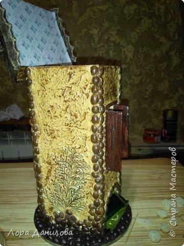 Чайный домик для моей Насти. Она очень хотела,чтобы её любимый чай в красивой коробке стоял. фото 4
