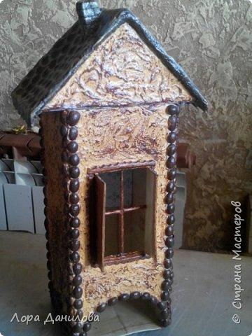 Чайный домик для моей Насти. Она очень хотела,чтобы её любимый чай в красивой коробке стоял. фото 1