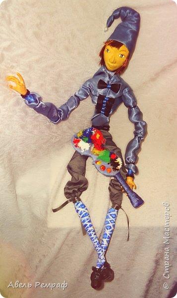 А вот и мой второй кукольный первенец ^^ фото 5