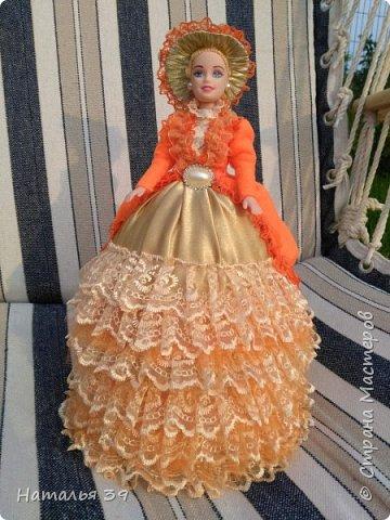 Здравствуйте жители Страны мастеров. Хочу и я Вам показать своих куколок шкатулочек. Не судите строго, так как увлеклась ими совсем не давно, но очень нравится этим заниматься. фото 8