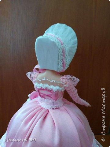 Здравствуйте жители Страны мастеров. Хочу и я Вам показать своих куколок шкатулочек. Не судите строго, так как увлеклась ими совсем не давно, но очень нравится этим заниматься. фото 5