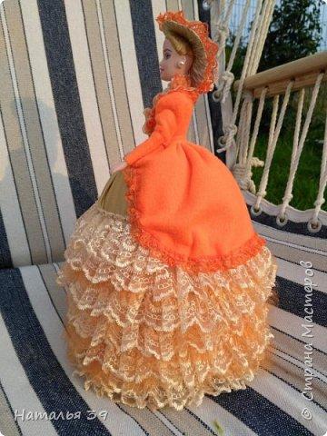 Здравствуйте жители Страны мастеров. Хочу и я Вам показать своих куколок шкатулочек. Не судите строго, так как увлеклась ими совсем не давно, но очень нравится этим заниматься. фото 6