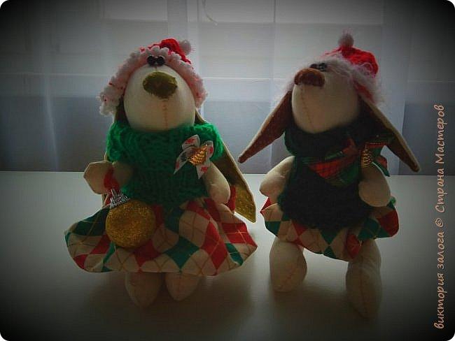 Маленькие помощники Санта-Клауса..