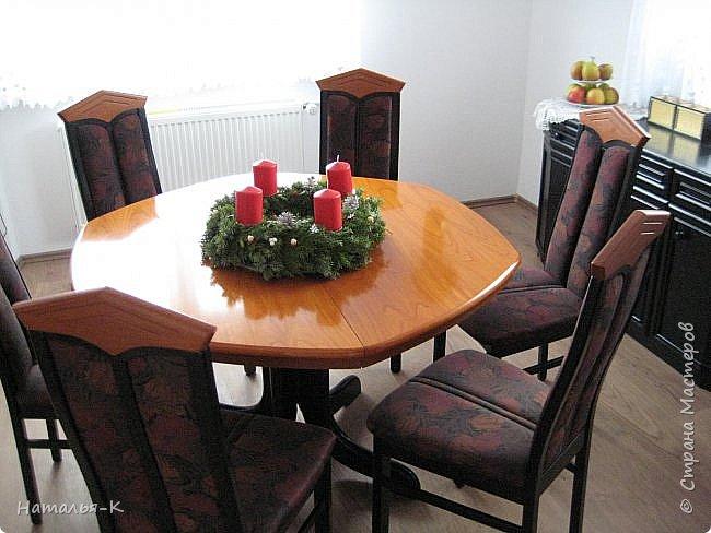Добрый день или вечер, всем кто заглянул ко мне в гости.  У нас уже скоро Рождество, начала делать открытки, это первая... фото 6