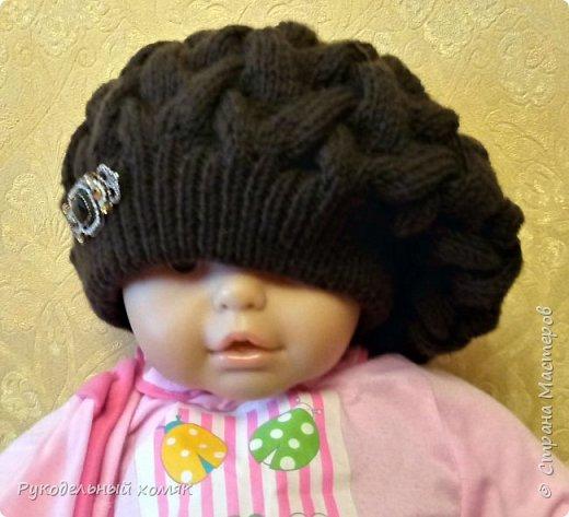 Здравствуйте мастерицы! Хочу поделится с вами МК по такой чудесной шапке-беретке.   фото 4