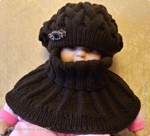 Здравствуйте мастерицы! Хочу поделится с вами МК по такой чудесной шапке-беретке.   фото 5