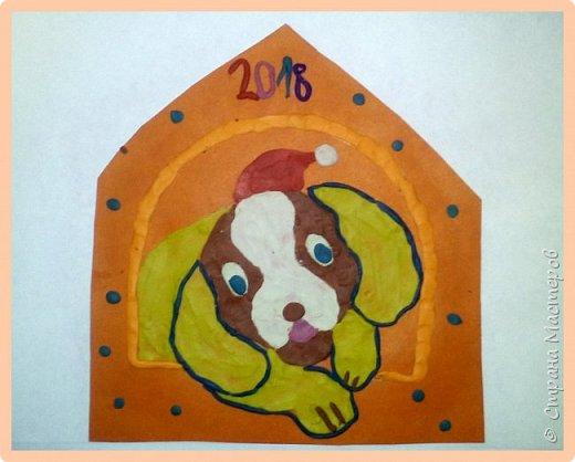 Продолжаем серию новогодних портретов, рисуем собачку. фото 44