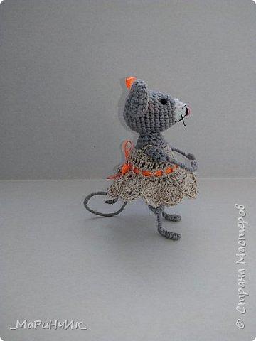 Связалась подружка для белой мышки. По МК Елены Никитиной. фото 2