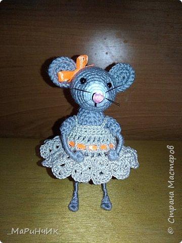 Связалась подружка для белой мышки. По МК Елены Никитиной. фото 4