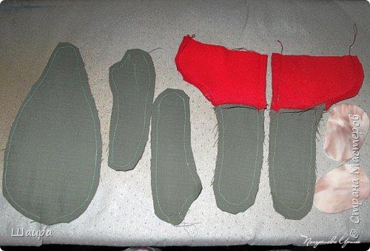 Кукла 43 см. Голова и руки из капрона, тело и ножки из ткани.  фото 2