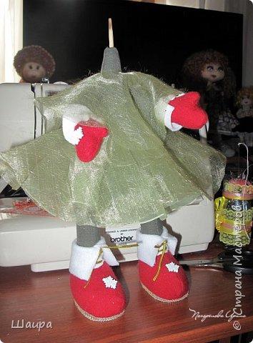 Кукла 43 см. Голова и руки из капрона, тело и ножки из ткани.  фото 7